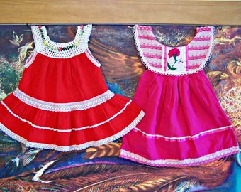 Baby, Mexican Dress, Baby Dress, Christmas, Fiesta, size 1, CHOOSE COLOR