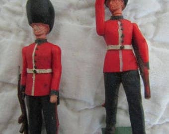Set of Vintage Miniature Soldiers Britains LTD Soldiers 2
