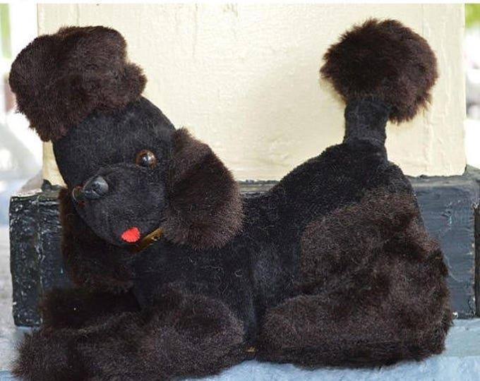 sale Vintage Poodle Radio, Black Poodle Radio,  Poodle Radio, 50s Transistor Radio, Black Poodle Dog,  1950s Transistor Radio,