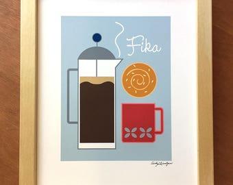 Fifa, Swedish Coffee Break, Art Print