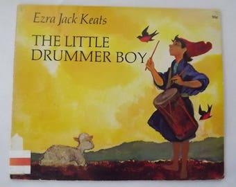 The Little Drummer Boy art by Ezra Jack Keats 1972
