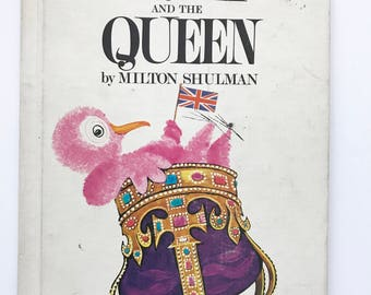 Vintage Children's Book Preep and the Queen Milton Shulman 1970 Bird Fiction