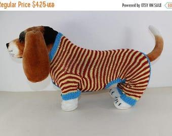 50% OFF SALE madmonkeyknits - Dog Stripe Onesie knitting pattern pdf download - Instant Digital File pdf knitting pattern