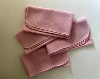 Napkins Table Linens Retro 1980's Vintage