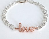 Love You More Necklace. Rose Gold Love you more necklace. Love Necklace. Valentines Day Necklace