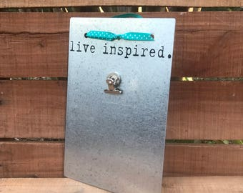 Magnetic Board - Friend Birthday Gift - Inspired - Magnet Picture Frame - Dry Erase Board - Message Board - Magnetic Memo Board - Vision
