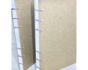 Dot Grid Coptic Bound Journal Heavyweight Paper