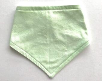Mint Bandana Bib - Bibdana - Super Drool Bib - Baby Bib - Gender Neutral Baby Bib