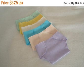 "ON SALE 15"" Baby Doll/Half Dozen Diapers/Made to fit 15"" bitty baby dolls/READY To Ship"