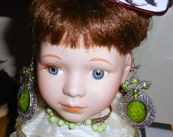 Just Be You Doll Assemblage  Mixed Media Tribute to Individuality  Porcelain Doll Head Sculpture