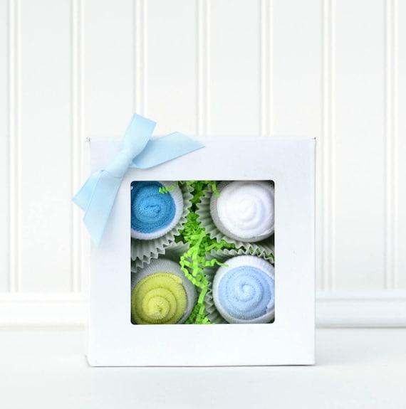 Baby Shower Gift, Baby Boy Layette Gift, Creative Baby Gift, Pregnancy Gift, Baby Washcloths, Unique Baby Gift Boy, Baby Gifts under 25