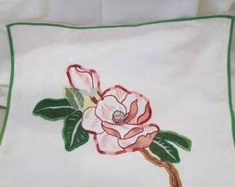 Magnolia Pillow Cover Slip
