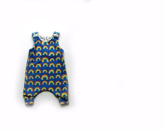 Baby Harem Romper, dungarees,baby clothes in Rainbows