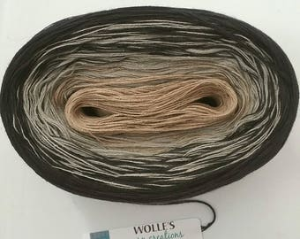 NIX - Color Changing Cotton yarn - 480 yards/100 gr - Fingering Weight