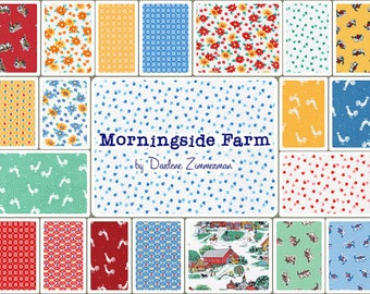 "Morningside Farm Roll Up by Darlene Zimmerman for Robert 40 Strips 2.5"" X 44"""