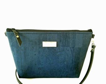 Cork Bag - Crossbody Purse -leather strap