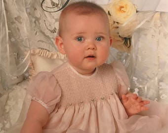 Embroidered Christening Gowns Book with Patterns