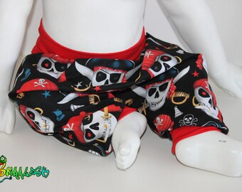 SCALABLE PIRATES 3 MONTHS TO 24 MONTHS BABY HAREM PANTS