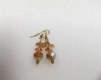 Tangerine Dream Drop Earrings