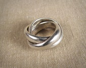 Custom for twoBEADS - Super Chunky Rolling Ring