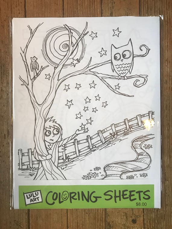LULU art Coloring Sheets