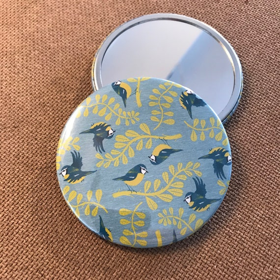 Blue Tits  - Pocket Mirror
