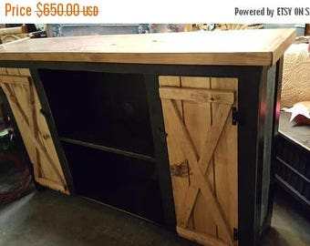 PICK ME SALE media console / farmhouse furniture / hallway table / storage cabinet / tv stand / rustic furniture / kitchen buffet / entertai