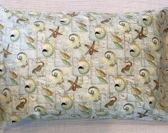 Sea Horse - Sea Shell - Star Fish Pillowcase