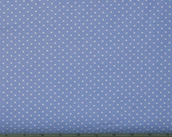 Periwinkle Polka Dot from Lakehouse Dry Goods' Sunrise Studio Collection, 100% Cotton Quilt Fabric, LH14029-PER1, Fat Quarter, Yardage