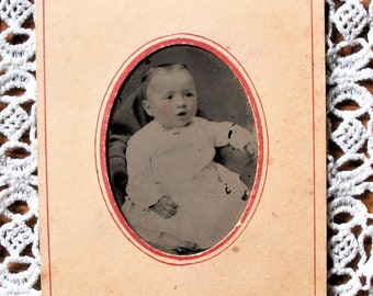 Tintype - Rosy Cheeked Baby