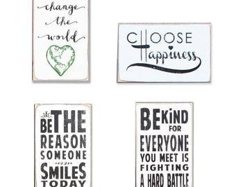Inspirational BOP mini sign bundle