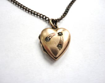 Teeny Tiny Antique Locket