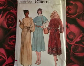 70's Vintage Vogue Pattern #7202 size 14