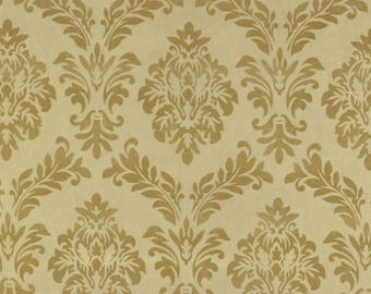 Flocked Polyester Curtain Fabric Florida Sand