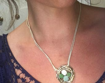 Nest Diffuser Necklace
