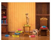 FALL SALE Meerkat cute animal print for bookworms: Meerkat Den