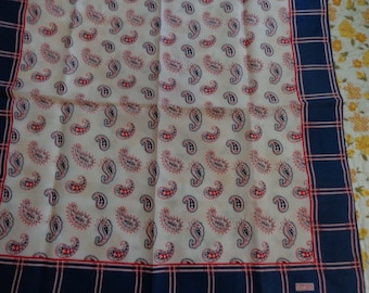 Scarves - Vintage Robinson Golluber Scarf Plaids and Paisleys