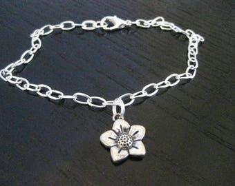 Wildflower Ankle Bracelet