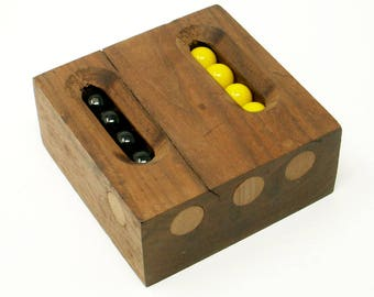 Vintage Marble Game Logic Puzzle