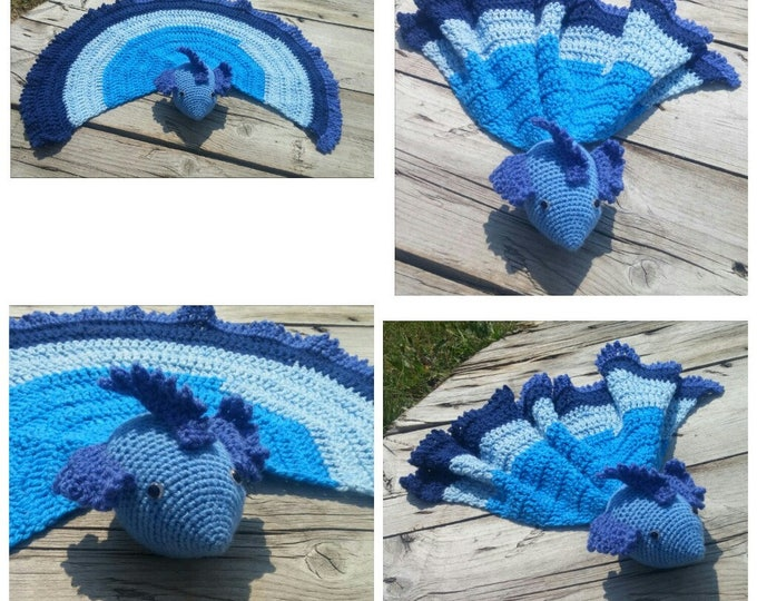 Betta Fish Lovey,Crochet Lovey,Security Blanket,Betta Fish,Lovey,toy,Baby Shower,Betta Fish,Fish Blanket,Fish Lovey,Car Blanket,Stuffy