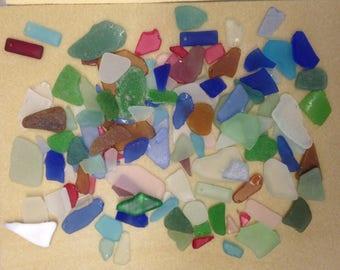 Beach Glass: 33 oz. bag (2+ LBS) - Free shipping to Contig. U.S.