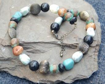 Boho Bead Collector Necklace