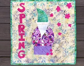 Spring Gnome Wall Hanging