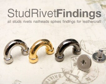 4pcs 11mm ZINC SCREW BACK D-ring Purse Hardware Finding for Purse Ring, Clasps Hook Ring / High Quality