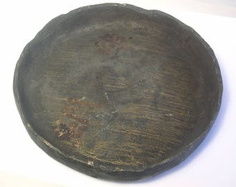 A Second Antique Chinese Bronze Foundry Advertising Bronze Ashtray Bowl Z26