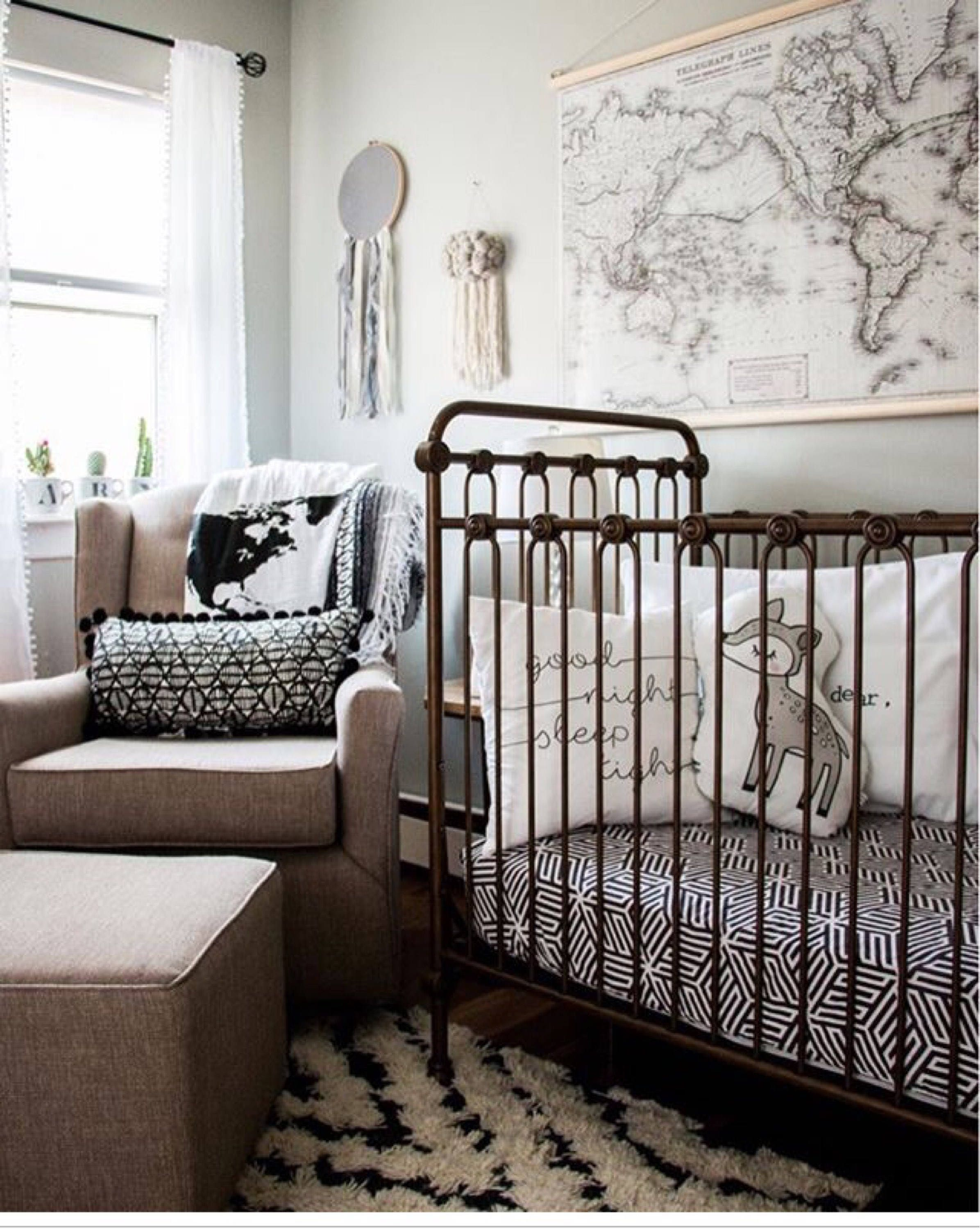 cover and neutral baby bedding il fullxfull white sheets change mini monochrome black p crib modern pad