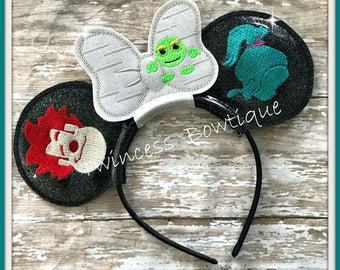 Wreck It  Mouse Ears Headband by Twincess Bowtique - CUSTOM