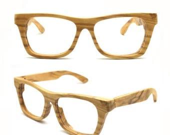 20% off SUMMER SALE large size customize olive wood glasses sunglasses rx prescription eyeglasses WALKER2014 for Takemoto