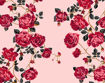 In stock Social Climber in Perfume from the Floral Retrospective fabric collection by Anna Maria Horner for Free Spirit fabrics
