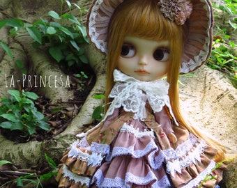 La-Princesa Mori Girl Outfit for Blythe (No.Blythe-346)